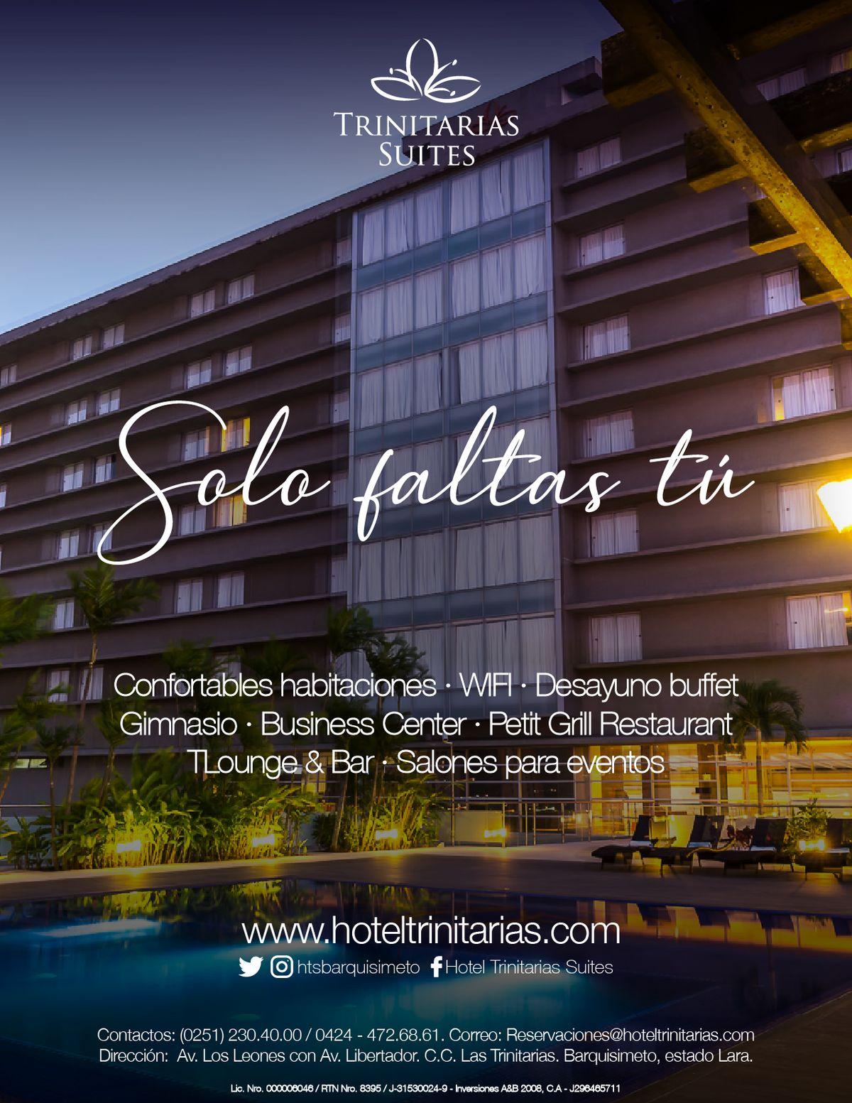 Mensaje 05 Hotel Trinitarias Suites