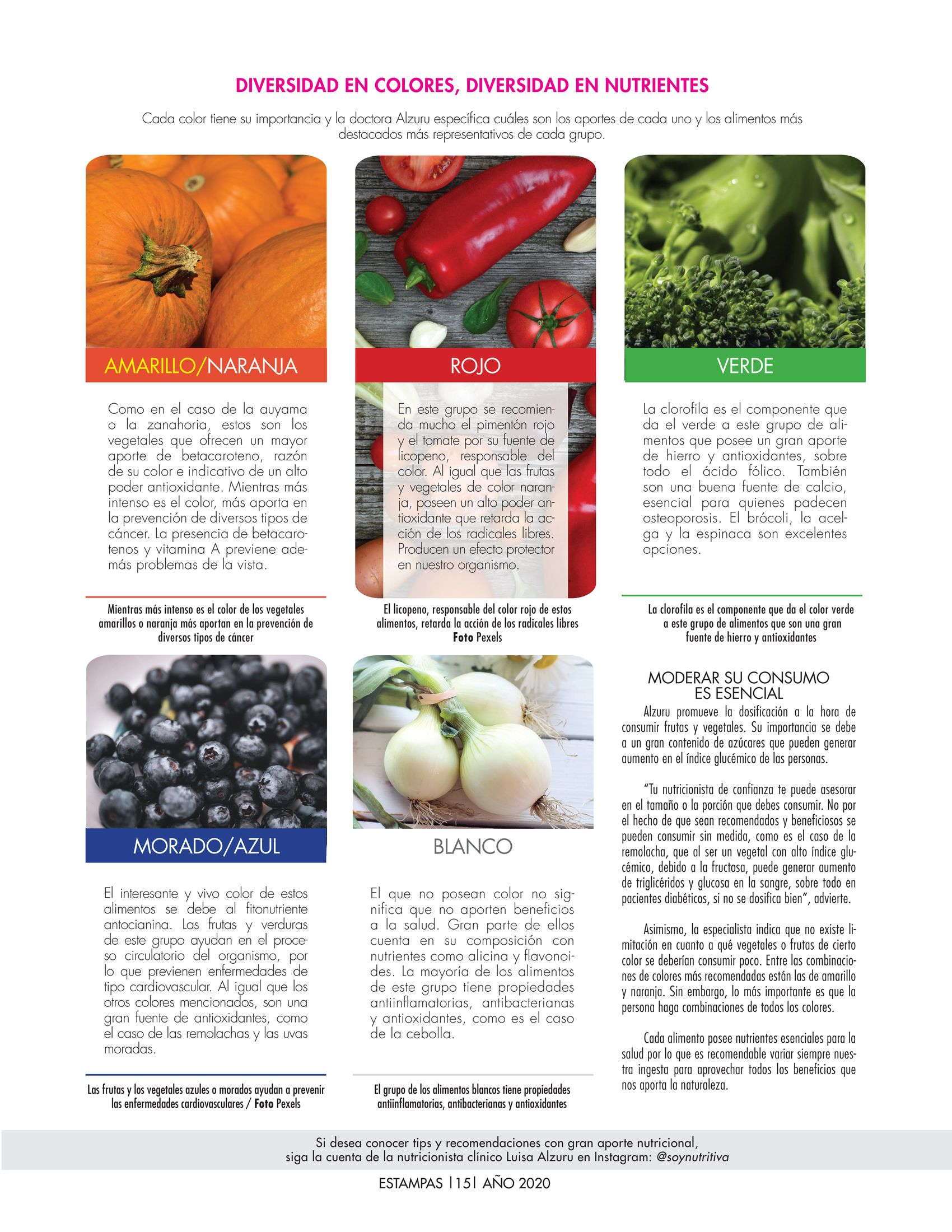 15-REV Salud: María Gabriela Esculpi - ¿Cómo funciona la teoría del color en los alimentos?