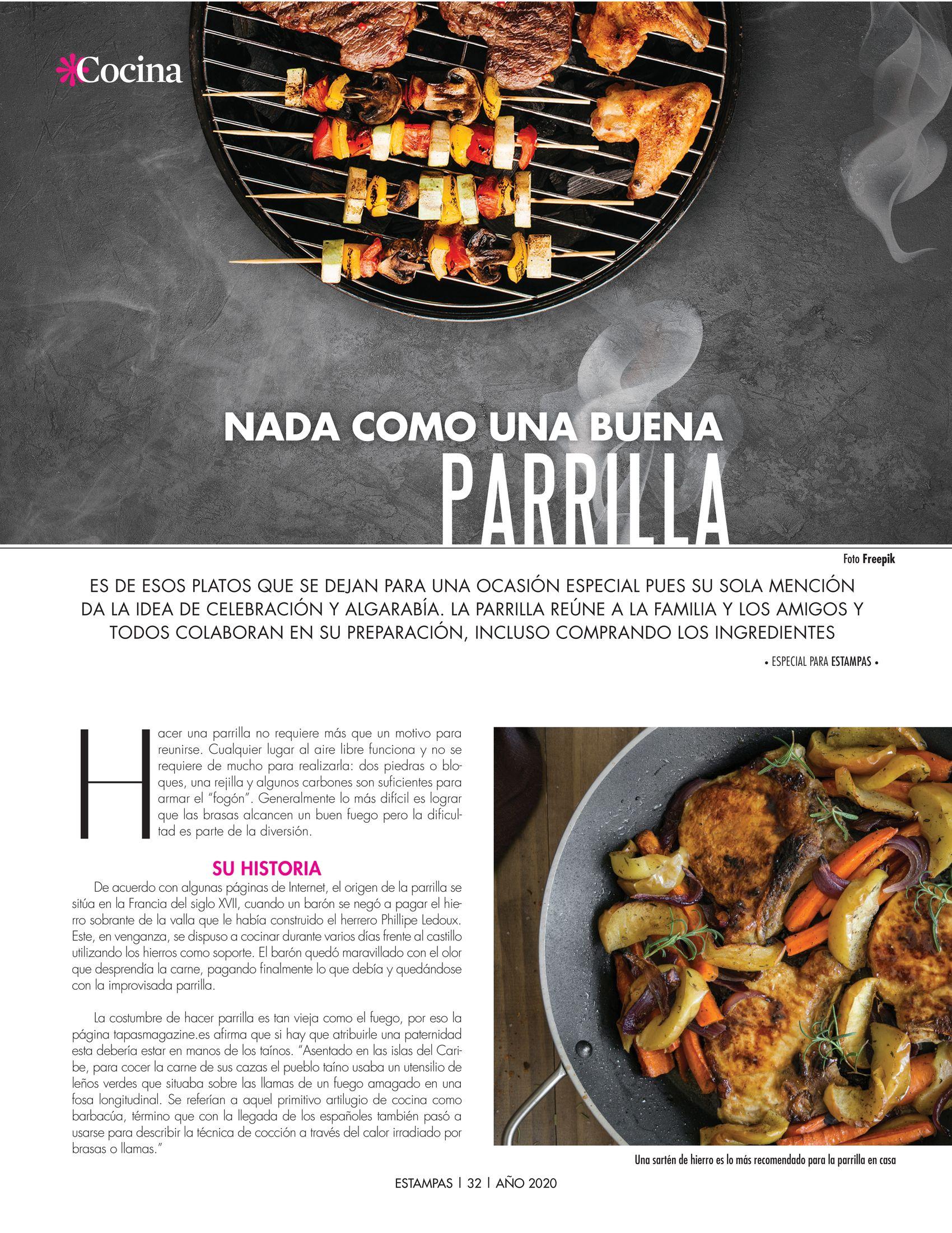 32-REV Cocina: Especial para Estampas - Nada como una buena parrilla