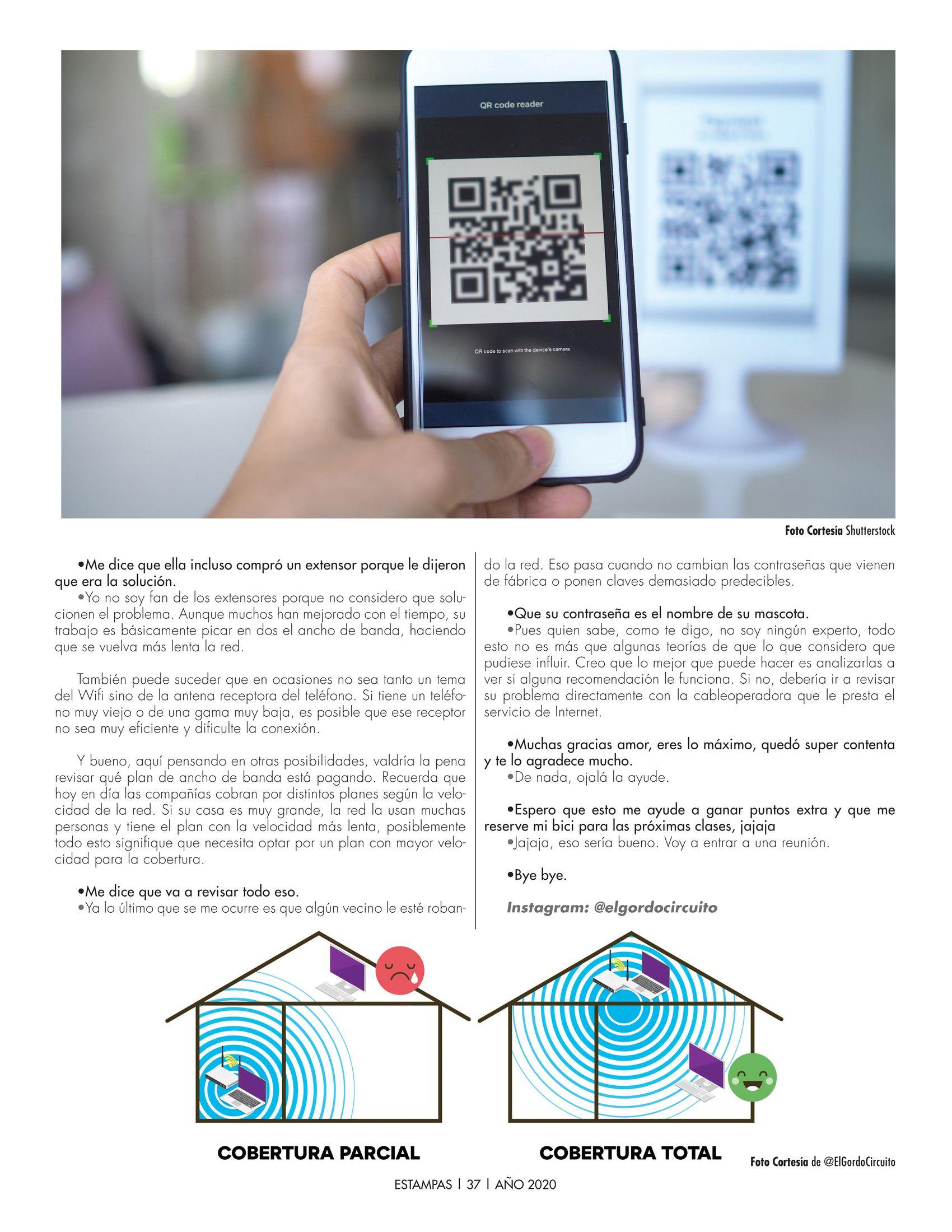 37-REV Tecnología: El Chat de @ElGordoCircuito -  Mitos verdades y consejos sobre el Wifi