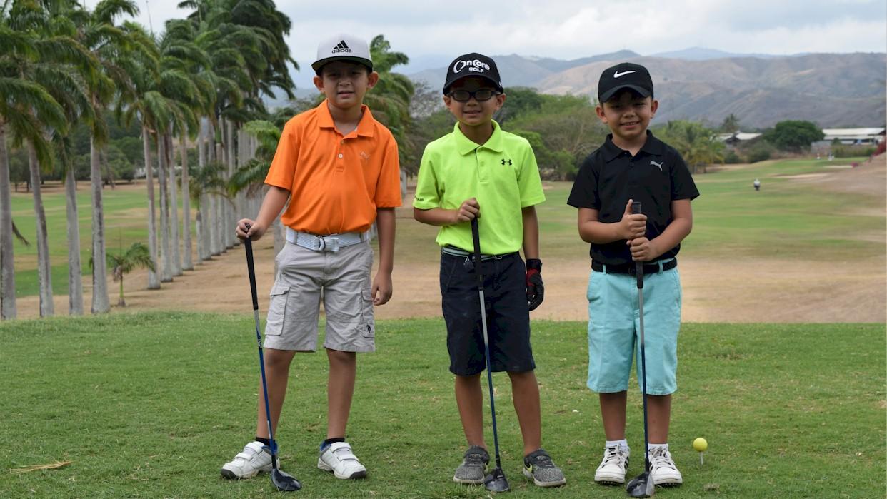 Comenzó ranking de menores del Barquisimeto Golf Club