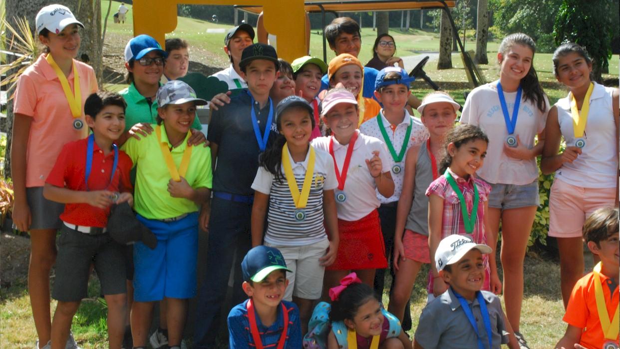 36 Participantes en el ranking de menores de Izcaragua