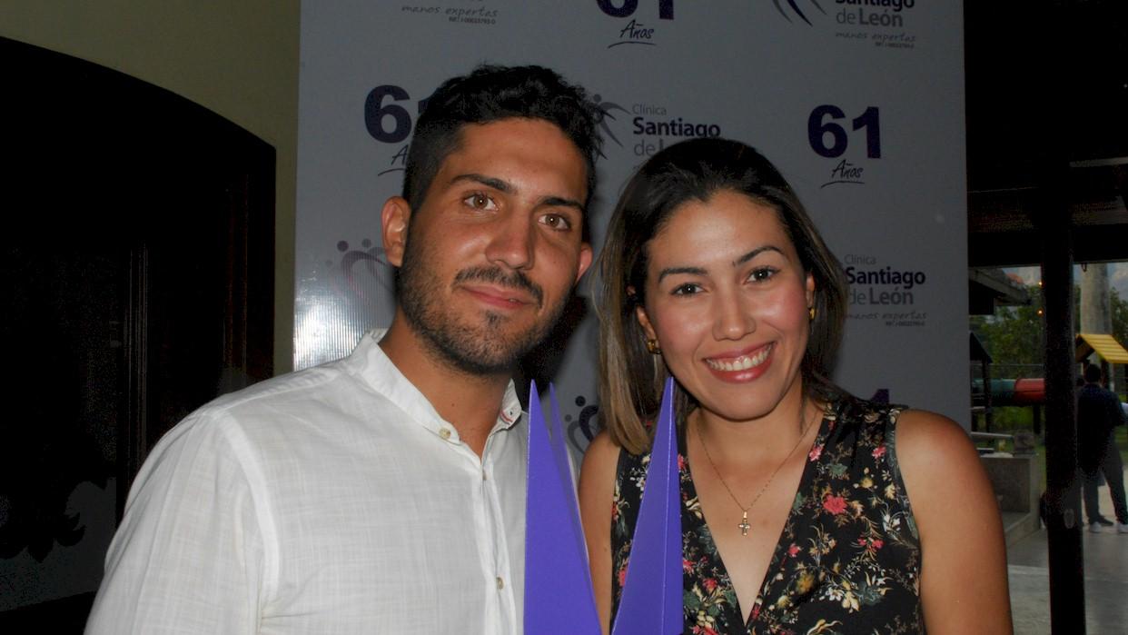 Sahara Zafra y Luis Hernández se impusieron en el Galeno Open
