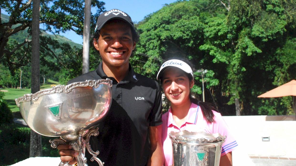 Vanessa Gilly y Luis Martínez Campeones Nacionales