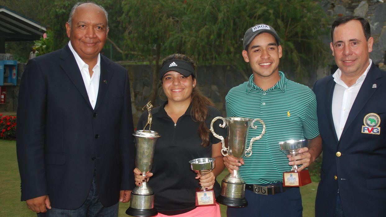 Gabriel Restrepo y Claudia Perazzo, campeones del juvenil