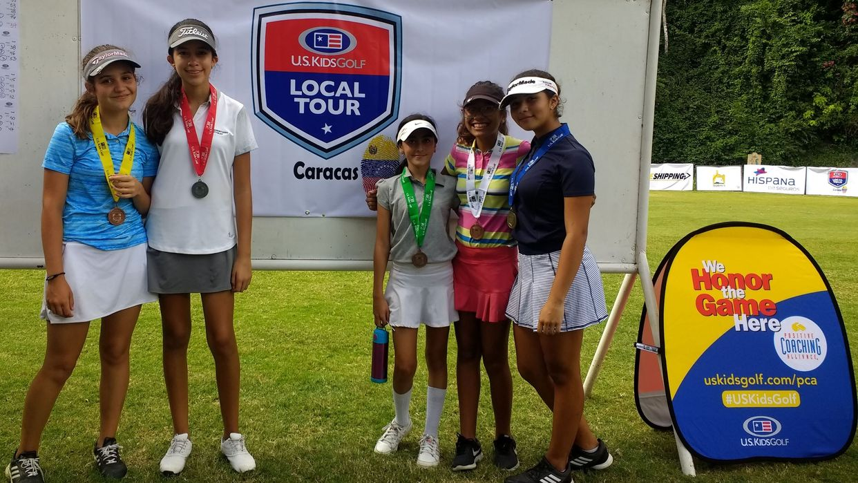 84 concursantes en el primer U.S. Kids Golf Local Tour Caracas
