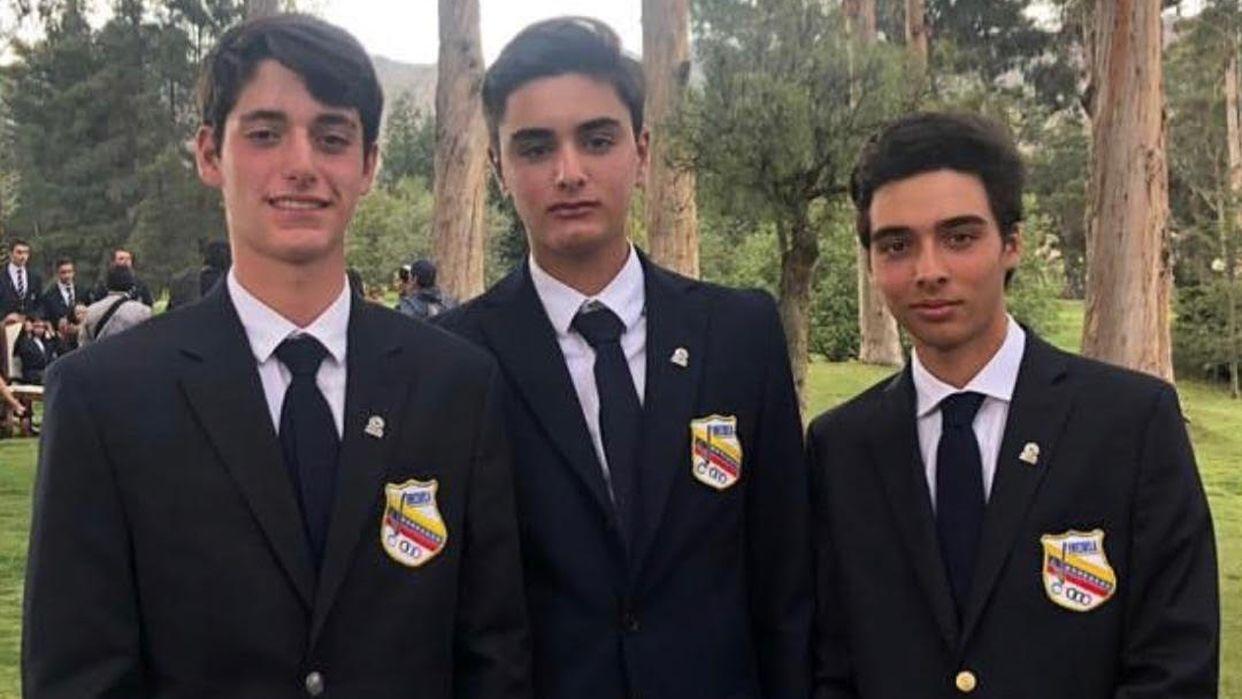 El equipo Prejuvenil y Virgilio Paz Campeones Sudamericanos