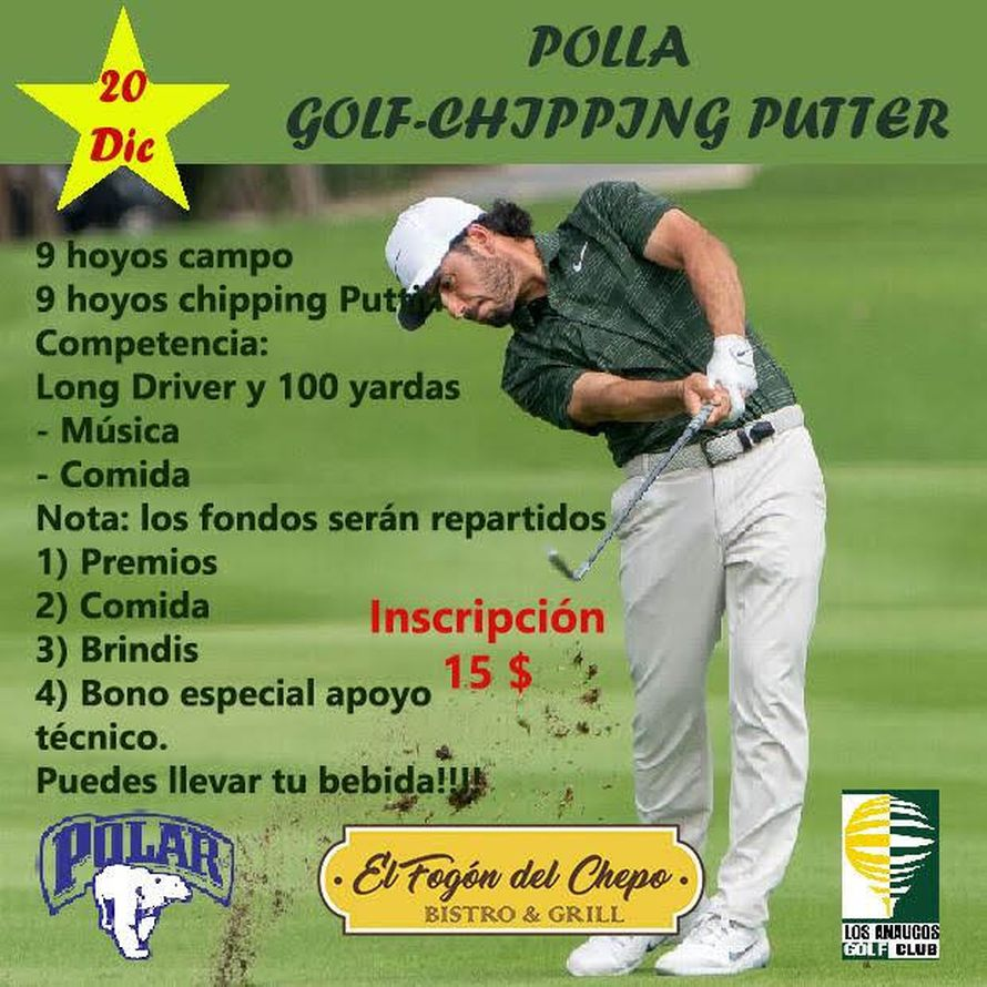 Mensaje Polla Chipping Putter