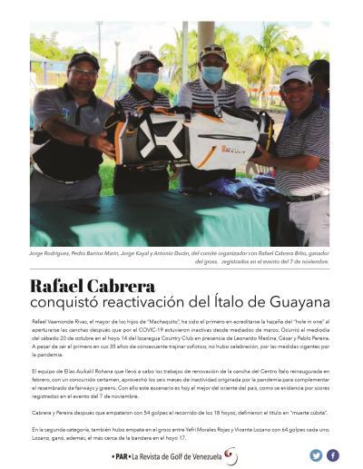Rafael Cabrera - Italo de Guayana