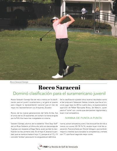 20-REV Rocco Saraceni Clasificación Suramericano Juvenil